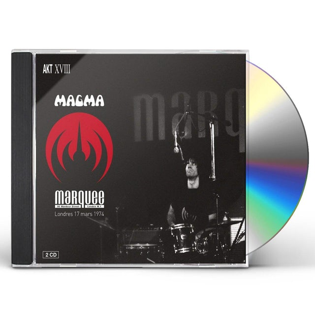 Magma LIVE AT MARQUEE CLUB LONDON MARCH 17 1974 CD