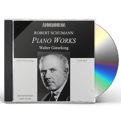 Schumann PIANO WORKS CD