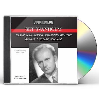 Schubert LIEDER / SET SVANHOLM ARNE CD