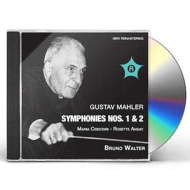 Gustav Mahler SYMS 1 & 2 CD