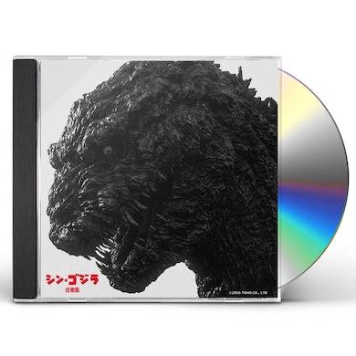 Shiro Sagisu SHIN GODZILLA ORIGINAL SOUNDTRACK CD