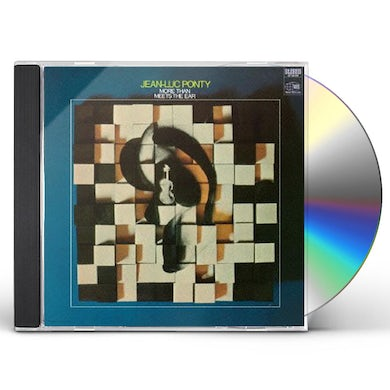 Jean-Luc Ponty MORE THAN MEETS THE EAR CD