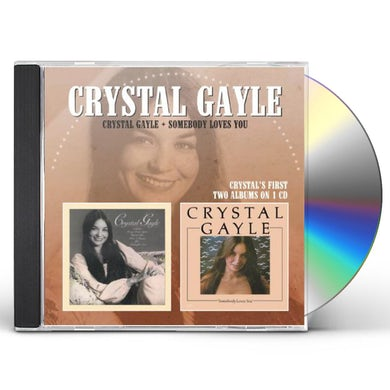 CRYSTAL GAYLE / SOMEBODY LOVES YOU CD