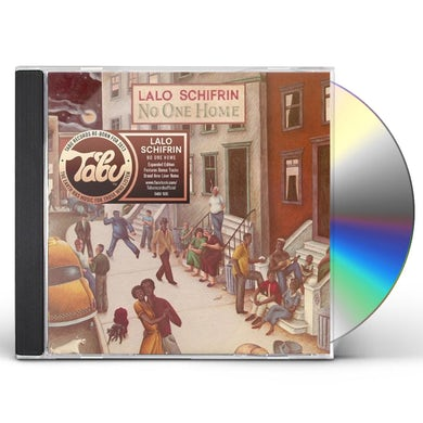 Lalo Schifrin NO ONE HOME CD