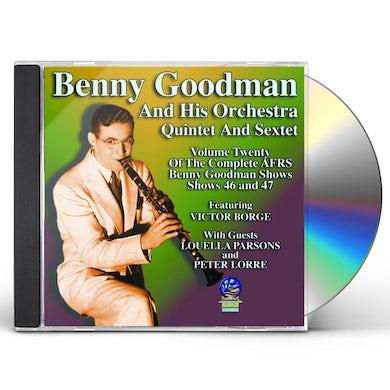 AFRS BENNY GOODMAN SHOW 20 CD