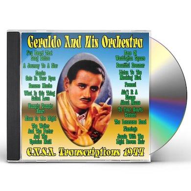Geraldo & His Orchestra E.N.S.A. TRANSCRIPTIONS 1944 CD