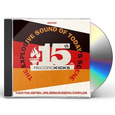 Record Kicks 15Th CD