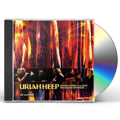 Uriah Heep FUTURE ECHOES OF THE PAST: LEGEND CONTINUES CD