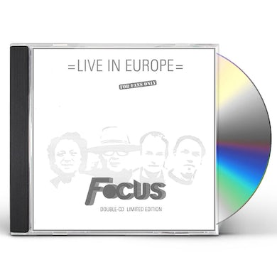 Focus LIVE IN EUROPE CD