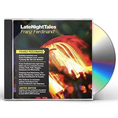 Franz Ferdinand LATE NIGHT TALES CD