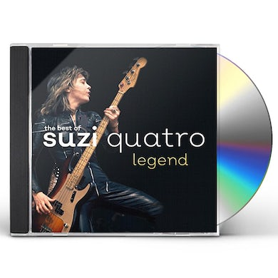 Suzi Quatro LEGEND: THE BEST OF CD