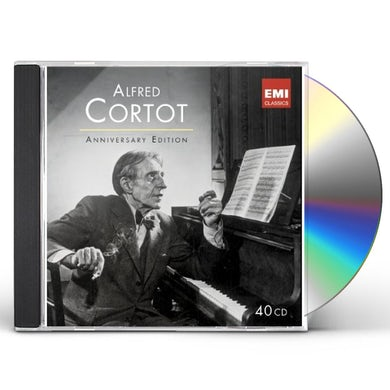 Alfred Cortot ANNIVERSARY EDITION CD