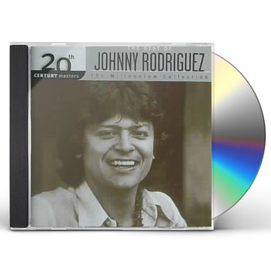 Johnny Rodriguez 20TH CENTURY MASTERS: MILLENNIUM COLLECTION CD