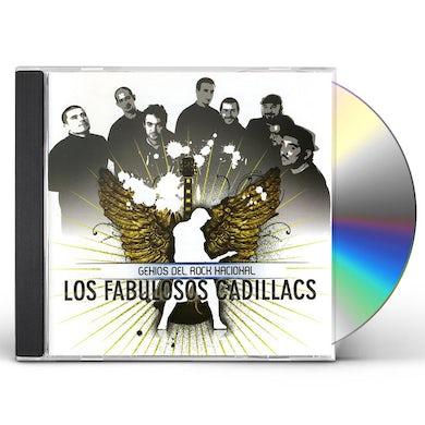 FABULOSOS CADILLACS GENIOS DEL ROCK NACIONAL CD