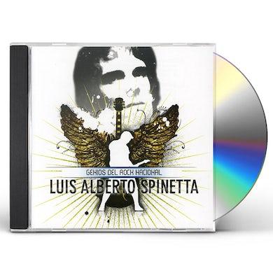 Luis Alberto Spinetta GENIOS DEL ROCK NACIONAL CD