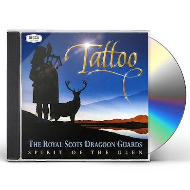 Royal Scots Dragoon Guards SPIRIT OF THE GLEN-TATTOO CD