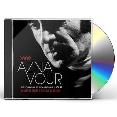 Charles Aznavour DISCOGRAPHIE STUDIO ORIGINALE VOL 31 CD