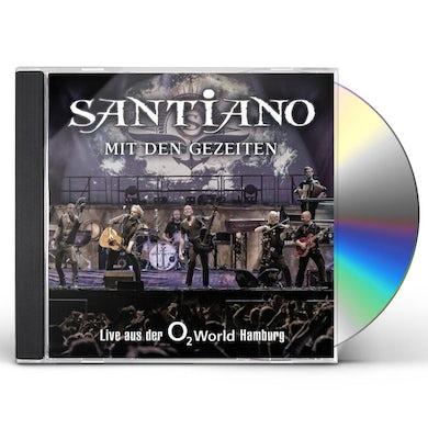 Santiano MIT DEN GEZEITEN-LIVE DER O2 WORLD HAMBURG CD