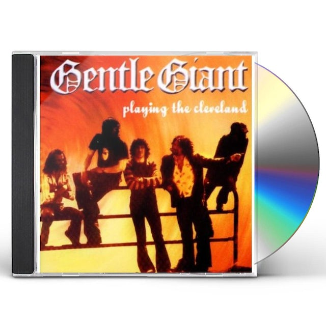 Gentle Giant PLAYING THE CLEVELAND CD
