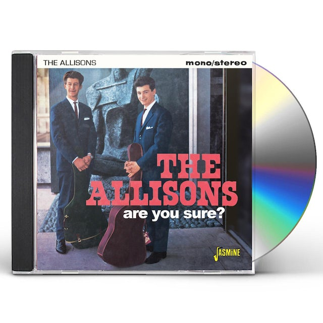 Allisons ARE YOU SURE CD