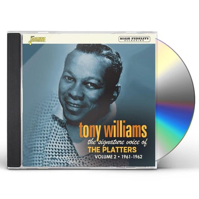 Tony Williams SIGNATURE VOICE OF THE PLATTERS 1961-1962 VOL 2 CD
