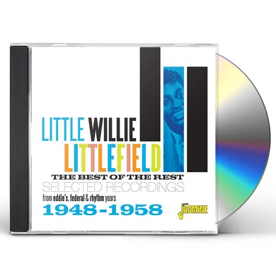 Little Willie Littlefield BEST OF THE REST: SELECTED RECORDINGS 1948-1958 CD