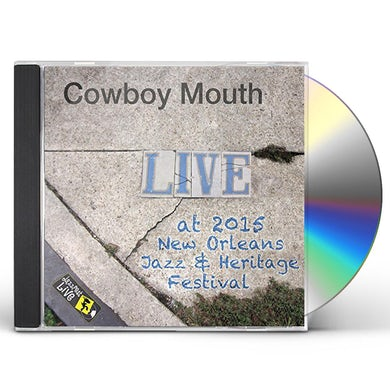 Cowboy Mouth JAZZFEST 2015 CD