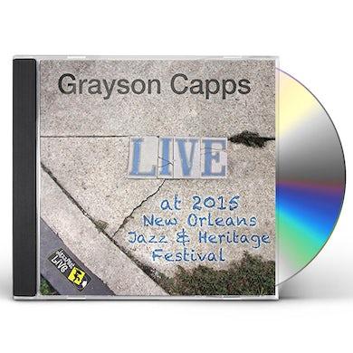 Grayson Capps JAZZFEST 2015 CD