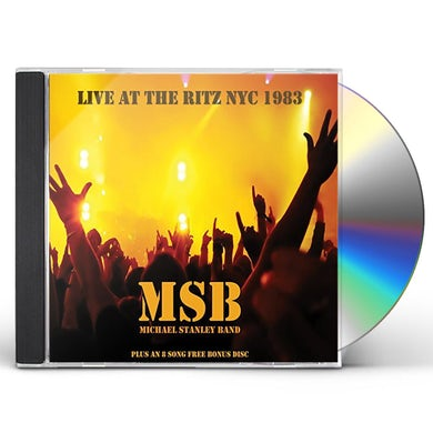 MICHAEL STANLEY BAND - LIVE AT THE RITZ NYC 1983 CD