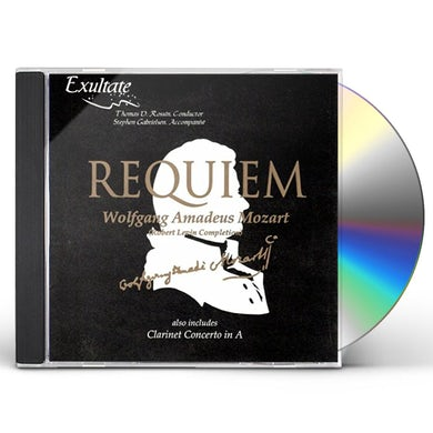 Exultate REQUIEM KV 626 (SUSSMAYER) CD