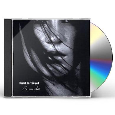 Amanda HARD TO FORGET CD