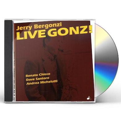 Jerry Bergonzi LIVE GONZI CD