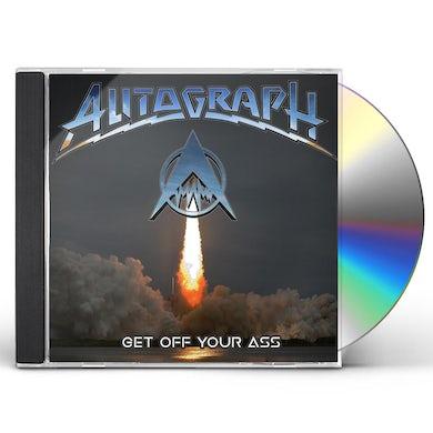 Autograph GET OFF YOUR ASS CD