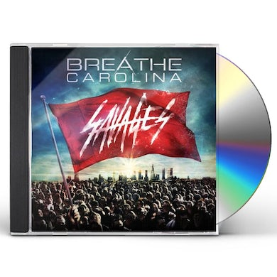 Breathe Carolina SAVAGES CD