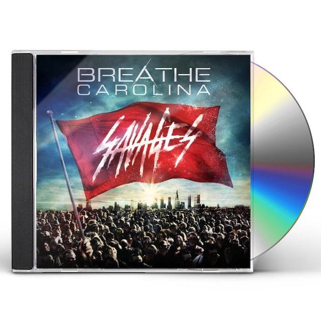 Breathe Carolina SAVAGES CD