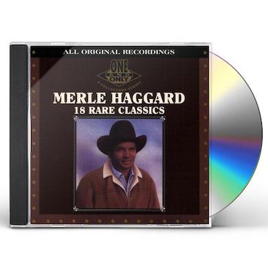 Merle Haggard 18 RARE CLASSICS CD