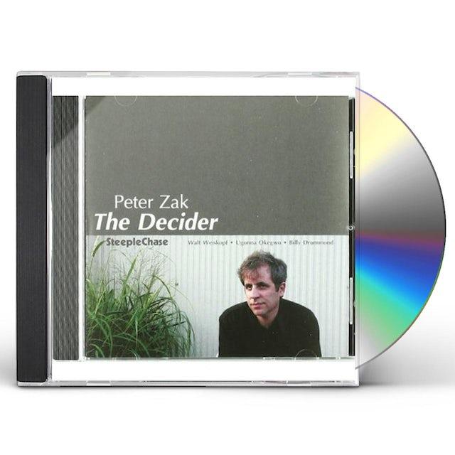 Peter Zak DECIDER CD