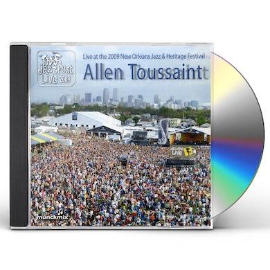 Allen Toussaint LIVE AT 2009 NEW ORLEANS JAZZ & HERITAGE FESTIVAL CD