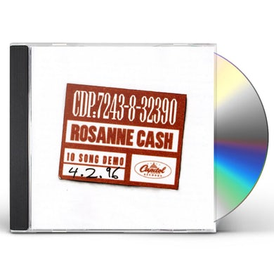 Rosanne Cash 10 SONG DEMO CD