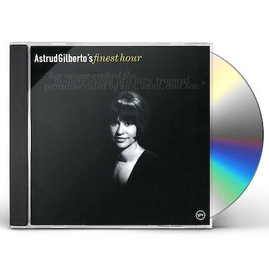 Astrud Gilberto FINEST HOUR CD