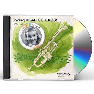 Alice Babs SWING IT CD