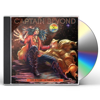 Captain Beyond LIVE IN TEXAS - OCTOBER 6, 1973 CD