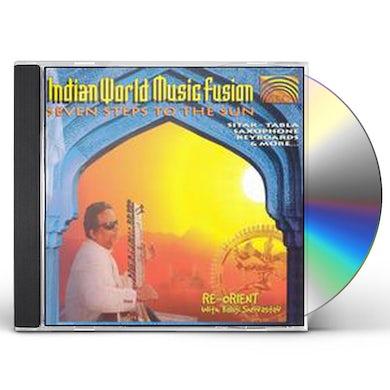Baluji Shrivastav INDIAN WORLD MUSIC FUSION: SEVEN STEPS TO THE SUN CD