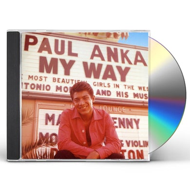 Paul Anka MY WAY CD