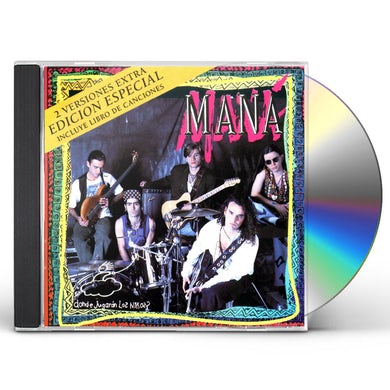 Mana DONDE JUGARAN LOS NINOS (NEW EDITION) CD