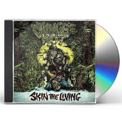 Jungle Rot SKIN THE LIVING CD