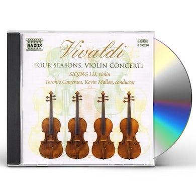 Vivaldi FOUR SEASONS: VIOLIN CONCERTI CD