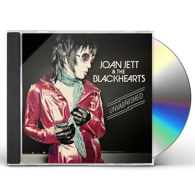 Joan Jett & The Blackhearts UNVARNISHED CD