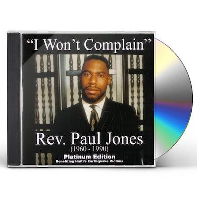 Paul Jones I WON'T COMPLAIN CD