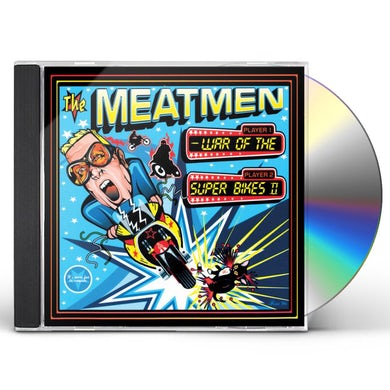 The Meatmen WAR OF THE SUPERBIKES CD